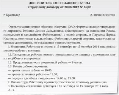 Дополнительное соглашение в пфр — Адвокаты в Казани
